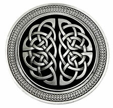 Celtic Knot Belt Buckle Circular Round Intricately Detailed Official Product