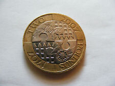 United    Into    One   Kingdom   £2   Coin   1707 - 2007   With  Minting  Error