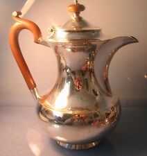 1927 Stunning solid silver coffee pot 417grams by Hukin & heath,