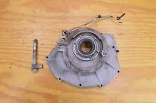 67 68 LITTLE HONDA P50 RIGHT CRANKCASE COVER W/ BRAKE SHOE CAM STOP SWITCH
