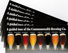6 Same Commonwealth Brewing Co. Boston MA Glossy Beer Tour Advertisements