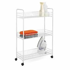 Cart 3 Tier Storage Drawer Organizer Move Rolling Tool Craft Home Office School