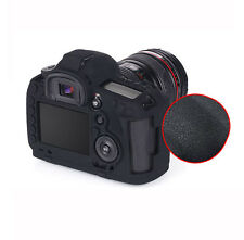 Silicone Armor Skin Case Camera Cover for Canon EOS 5D Mark III 5D3 5Ds 5DSR