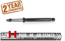 2 NEW REAR GAS SHOCK ABSORBERS FOR OPEL / VAUXHALL INSIGNIA  / GH-333673 /