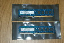 4GB DDR3 (2X2GB) PC3-10600 NANYA RAM 240-PIN MEMORY FOR PC DESKTOP