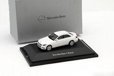 Mercedes-Benz W205 C-Klasse weiß 1:87 Herpa