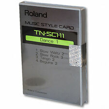 Roland TN-SC1-11 Style Card DANCE 1 ROM arranger keyboard/module/piano NEW