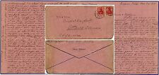 GERMANY 1915 LONG LETTER in ENGLISH ANNIE DITTMANN FANCY STATIONERY to USA