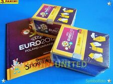 Panini★EURO 2012 EM 12★2x Box/display + Leeralbum German Hardcover - RARITÄT