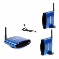 PAT-530 Wireless AV Sender Audio Video Transmitter+2 Receivers IR Remote Include