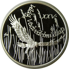 1988 Hungary Large Proof Silver 500 F Falcon-bird