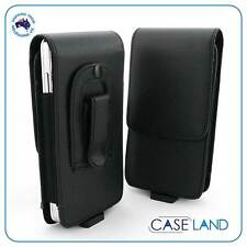B1 - LEATHER BELT CLIP CASE COVER HOLSTER FOR TELSTRA DAVE (TOUGH PHONE)
