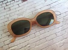 50s 60s vintage style frosted orange sunglasses Mod Scooter rockabilly style