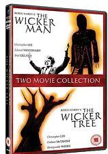 Wicker Man + Wicker Tree DVD Christopher Lee Edward Woodward Sealed Wickerman