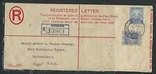 BARBADOS (P2706B) 1934 KGV 3D RLE UPRATED 2 1/2D SEAHORSE TO USA