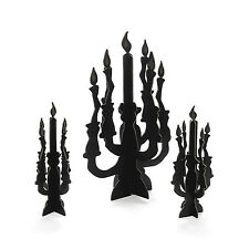 Silhouette Glow in Dark CENTERPIECE Decoration Halloween Gothic Wedding Birthday