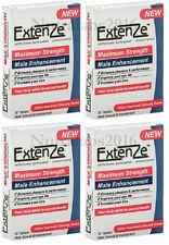 Extenze Maximum Strength - 120 Pills - 4 Month Supply Male Enhancement FAST SHIP