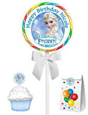 40 FROZEN ELSA BIRTHDAY PARTY FAVORS STICKERS ~ for goody bags, lollipops, etc