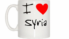 I Love Heart Syria Mug