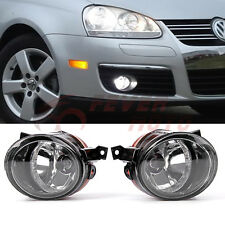 Front Fog Grille Driving Light W/H11 Bulbs For 05-10 VW Jetta Golf Bora Mk5  FM