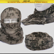Germany Desert Camouflage Camo Mesh Scarf Wrap Cover Mask Shemagh Sniper Veil