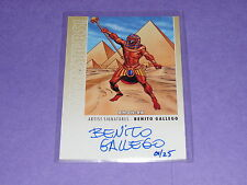 2014 Goodwin Champions Monsters! AMON-RA Artist Autographed/25 Benito Gallego M3
