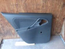 2000-2002 CHEVROLET CAVALIER LEFT REAR DRIVER SIDE DOOR PANEL DARK GREY