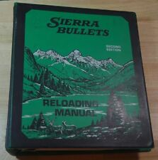 Sierra Bullets 2nd Reloading Manual-NOS