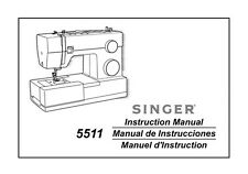 Singer 5511-SCHOLASTIC Sewing Machine/Embroidery/Serger Owners Manual