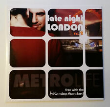 Late Night London - Metro Life - Evening Standard Promo CD - Near Excellent Cond