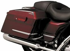 Kuryakyn - 7752 - Hard Saddlebag Accents, 4 Piece Set - Harley Davidson Tourings