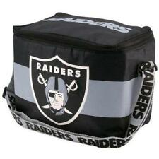 NFL Oakland Raiders Insulated Lunch Tote 6 Pack Cooler Soft Collapsible Nylon