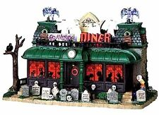 Lemax 95805 GRAVESIDE DINER Spooky Town Lighted Building Halloween Decor I