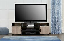 Altra Furniture Carson TV Stand, For TV's up to 50Inches, Black/Cherry, New