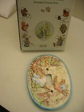 Beatrx Potter Porcelain Nursery Collection wall switch plate by Schmid 1992