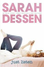 Just Listen-Sarah Dessen-Contemporary Fiction-DIFFERENT COVER-Combined shipping