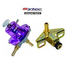 SYTEC FUEL PRESSURE REGULATOR + BMW E30 318i 320i 323i 325i M3 Z1 RAIL ADAPTOR