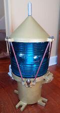UNITED STATES COAST GUARD BLUE BUOY LIGHT LAMP - USCG -  MARITIME - RARE