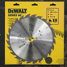 DEWALT DT1741 SERIES 60  280MM CIRCULAR SAW BLADE 280 x 30 24T  FLAT POS 10°