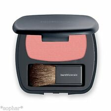 bare Minerals Escentuals READY Blush/Blusher Compact THE APHRODISIAC Peach/Coral
