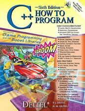 C++ How to Program by H. M. Deitel, P. J. Deitel and Deitel and Associates...