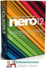 Nero 12 BURN CD DVD AUDIO VIDEO NEW IN RETAIL BOX Not 2016 Genuine GUARANTEE!