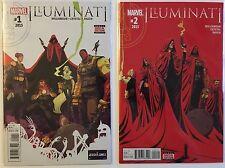 Illuminati #1 And #2  Set. Marvel Comics 1st print Secret Wars 2015. NM Unread.