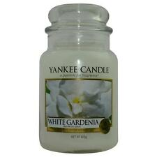 Yankee Candle White Gardenia Scented Large Jar 22 oz