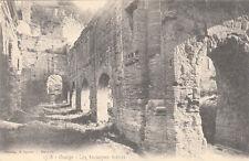 ORANGE 1718 les anciennes arênes photo lacour timbrée 1905