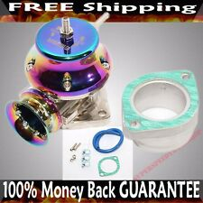 "RAINBOW 2.5"" FLANGE MOUNT ADJUSTABLE TYPE RS BLOW OFF VALVE BOV TURBO CHARGE"