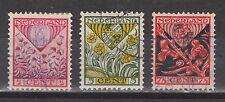 NVPH Netherlands Nederland 208  209  210 used gest 1927 Kinderzegels Pays Bas
