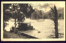 RARE Carte Postale de 1937 BONNIERES sur SEINE (Yvelines) PÉNICHES sur la Seine