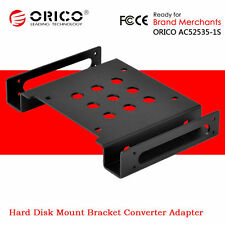 """ORICO 2.5""""/3.5"""" HDD SSD Hard Drive to 5.25"""" CD-ROM Space Bracket Mounting Holder"""