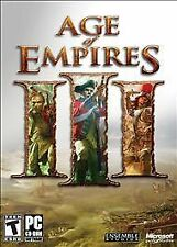 Age of Empires 3 III PC GAME MISSING DISC 1 AND MANUAL